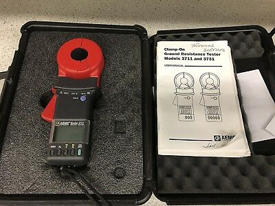 AEMC Instruments 3731 Clamp On Ground Resistance Tester