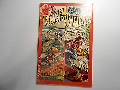 Surf N' Wheels #6 (Sep 1970, Charlton) 4.0 VG!!! Sports Comic!!!