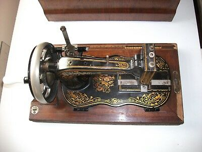 The Oxford Hand Crank Sewing Machine 1880's Very Rare.