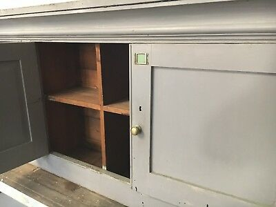 Antique Railway Pigeonholed Cupboard LNER Architectural