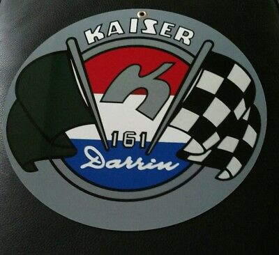 Kaiser Darrin advertising sign