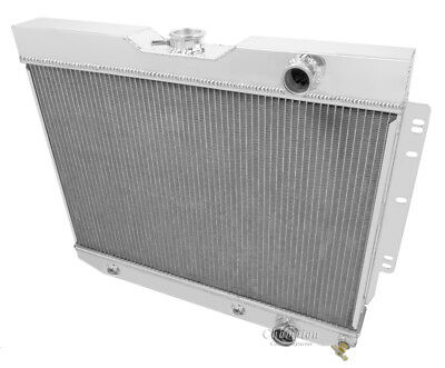 2Row Aluminum Radiator Fits For 1959-1963 Chevrolet Impala Bel-air  Biscayne