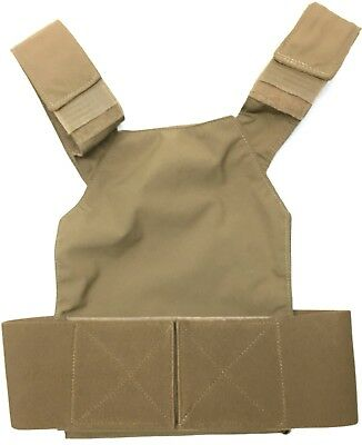 First Spear FS The Slick Ultra Lightweight Plate Carrier PC Coyote Small Low Vis