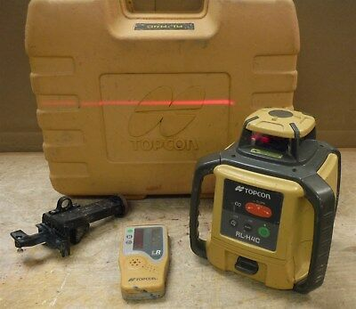 TOPCON RL-H4C Rotary Laser w LS-80L Receiver in Case FREE SHIP 220