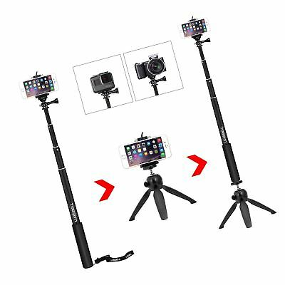 Luxebell Selfie Stick Telescoping Pole with Tripod Stand Mount for iPhone 8/7...