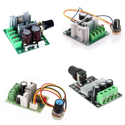 3/10/15A DC 6V-28V/6-90V/12V-36V/12V-40V PWM Motor Speed Control Switch BSG