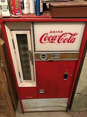 Vintage 60s Coca Cola Vending Machine Coke Red Not Working Easy Fix