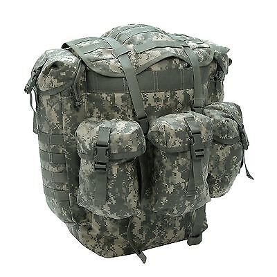 Army ACU Camo Backpack Cordura Heavy Duty Large Field Pack Rucksack Alice Pack