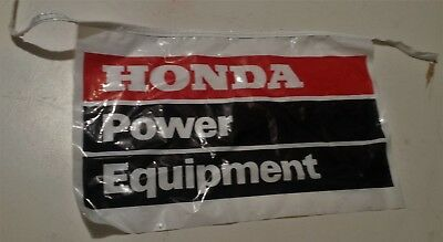 "Vintage Honda Power Equipment Flag Banners 17 ¾"" x 11 ¼"" Outdoor Power Sign"