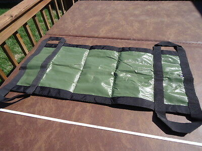 "Rescue Litter Non-Rigid Poleless Stretcher Non-rigid Olive Drab 44""x19.5"""
