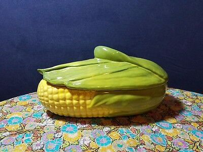 "Shawnee Pottery Vintage ""Corn on the Cob"" (12""x6"") Oven Proof #74"
