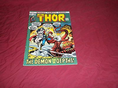 Thor #204 (Oct 1972, Marvel) bronze age 5.5/fn- comic!!!!
