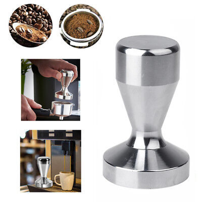 Stainless Steel Coffee Tamper 51mm Cafe Home Coffee Bean Press Tool Espresso New