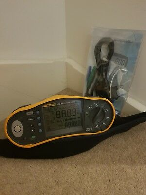Fluke 1653 Multifunction Tester Err1 Protected with new leads & Calibration cert