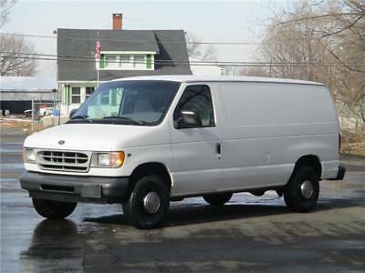 2002 Ford E-Series Van EXTENDED VAN! 1 OWNER! NO RESERVE TOOL BOXES! CLEAN! RUNS DRIVES GREAT!