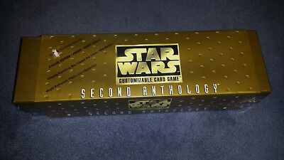 Star Wars CCG Second Anthology Decipher Sealed OOP NEW Factory Sealed TCG Box