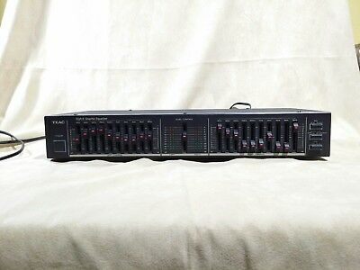 Vintage Teac EQA-5  - 10 Band Graphic Equalizer EQA 5