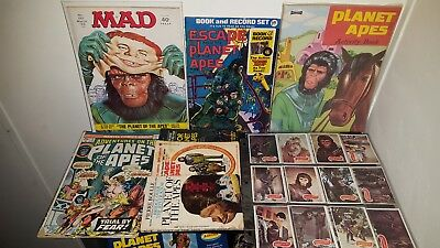 PLANET OF THE APES - Lot of Rare Novels, Comics, Cards & More! $-Price Reduced-$