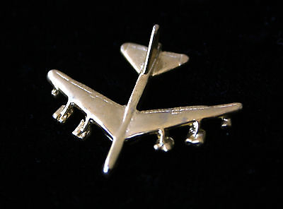 B-52 Stratofortress Bomber Sac 3D Gold Hat Lapel Pin Up Us Air Force Afb Usaf