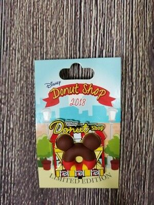 Disney Parks Donut Shop 2018 Mickey Mouse LE 3000 Pin of the Month Disney Pin