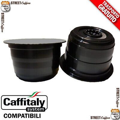 100 Cialde Capsule Caffe StreetCoffee Strong Comp. Caffitaly Italy H gratis