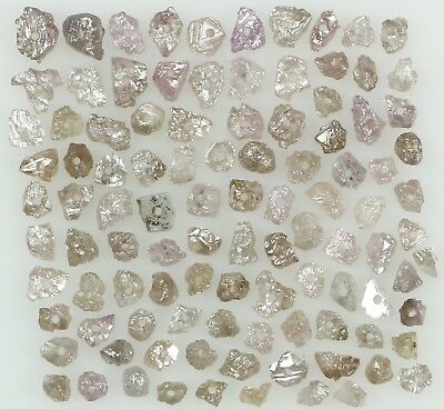 Natural Loose Diamond Pink Color Rough Bead I3 Clarity 1.00 to 100.00 Ct Q179