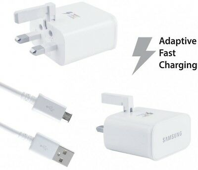 Genuine Replacement Fast Charger For Samsung Galaxy Phones / Tablets / Note