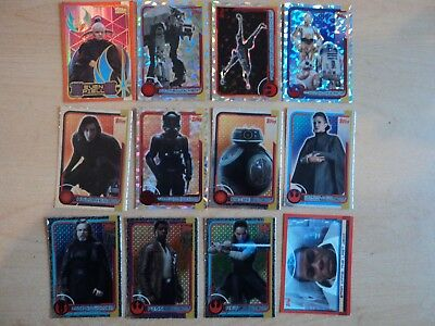 Bundle Topps Star Wars Journey To The Last Jedi Trading Cards - Job lot