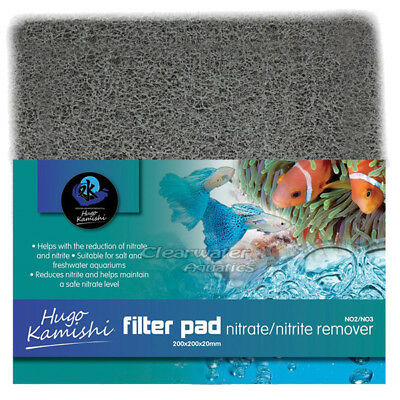 Nitrate Nitrite Removing Pad Cut To Size Sump Reef Marine Tank Tropical Filter