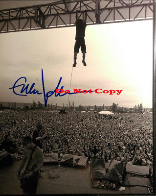 PEARL JAM EDDIE VEDDER Signed Autographed 8x10 Photo RP