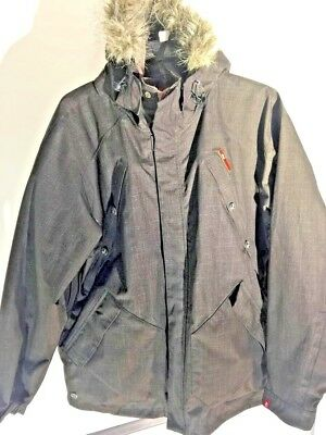 FourSquare MENS SNOW  SKI COAT PARKA LARGE Used for 7 days in Vail FREE SHIPPING