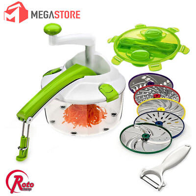 Tritatutto Roto Champ + Accessori Giraffetta Magic Chef Trita Taglia E Gratuggia