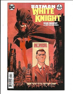 BATMAN: WHITE KNIGHT # 4 (DC Comics, MAR 2018) NM/M NEW