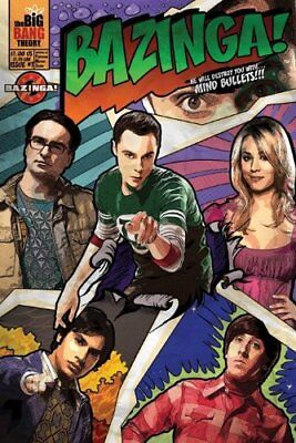 The Big Bang Theory Comic Bazinga 61 x 91.5cm Poster NEW AND SEALED