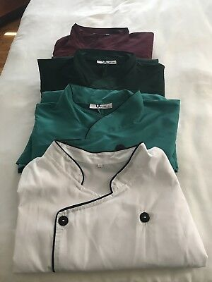 chef uniforms jackets. Pants. Only size large and medium