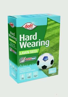 New Pack Doff Hard Wearing Grass 'Pro-Coat' Lawn Seed 500g Grass Seed