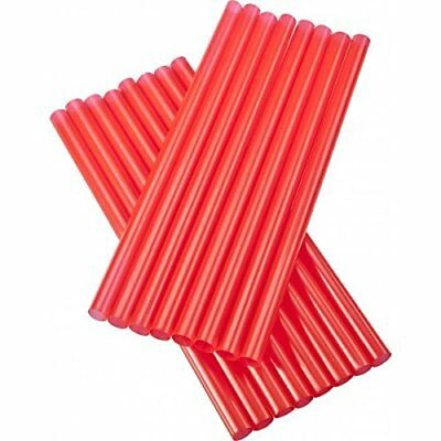 Straw GIANT or Smoothie PACK of 100 Red 12 inch Wrapped D & W Fine Pack
