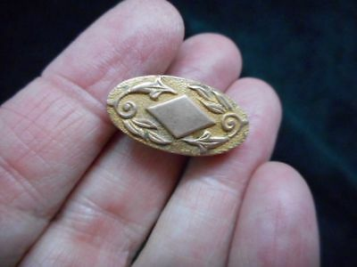 Authentic Vintage Victorian Engraved Lingerie ClipBrooch/Pin