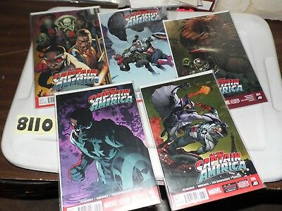 All-New Captain America lot of 5 books #2 #3 #4 #5 and #6