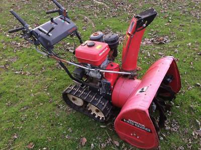 "Honda HS828 8HP 28"" Hydrostatic Track Drive Snowblower - Delivery Available"