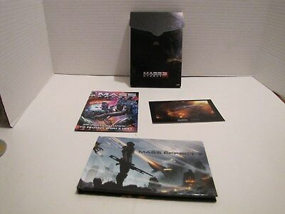 Mass Effect 3 N7 Collectors Edition Art Book Comic & Card No Game L@@k