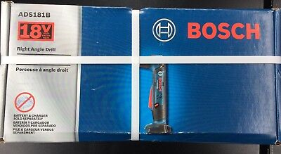 Bosch ADS181B 18-Volt Lithium-Ion 1/2-Inch Right Angle Drill