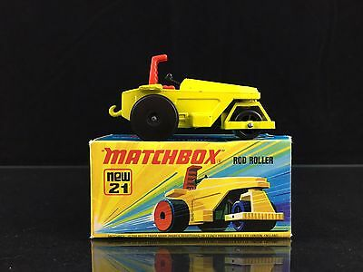 Matchbox LESNEY Superfast Modellauto No.21 ROD ROLLER