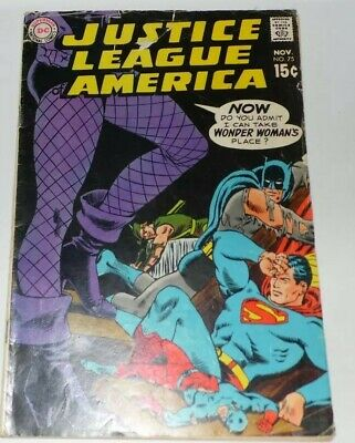 Justice League of America #75 1st Black Canary.  NO STOCK PHOTOS.