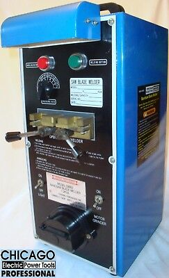 """Professional Portable Band Saw Blade Welder 1/8"""" to 1/2"""" ~ Chicago Electric 3663"""