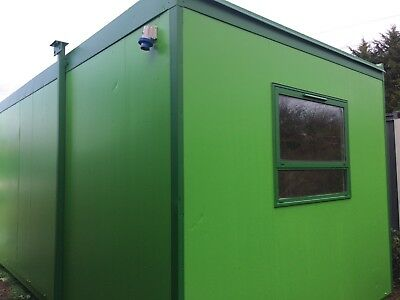 28x9ft Plastisol Office/ Portable Building / Site Office / Two Office/ Jack Leg/
