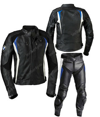 Bmw Motorbike Leather Suit Motogp Racing Biker Motorcycle Leather Jacket Trouser