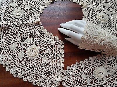 Antique Crocheted Collar Antiques