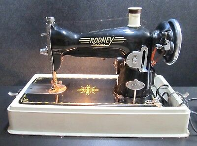 Vintage RODNEY De Luxe Dial-o-matic Sewing Machine GREAT WORKING CONDITION !!!!!
