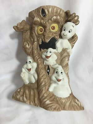Vintage 1986 Harvey Casper The Friendly Ghost Candle Stand Votive